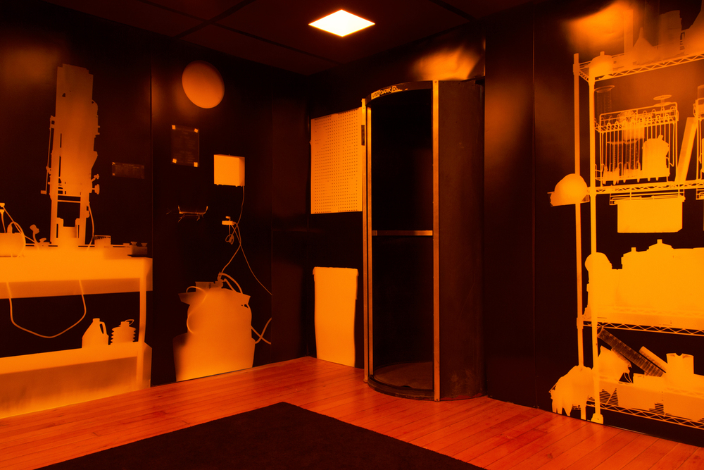 This Darkroom's Gone to Heaven, interior, 2012