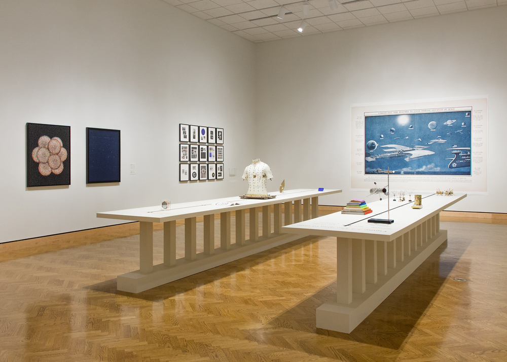 "Installation view, ""G.U.T. Feeling v2"" at Mia, 2014"