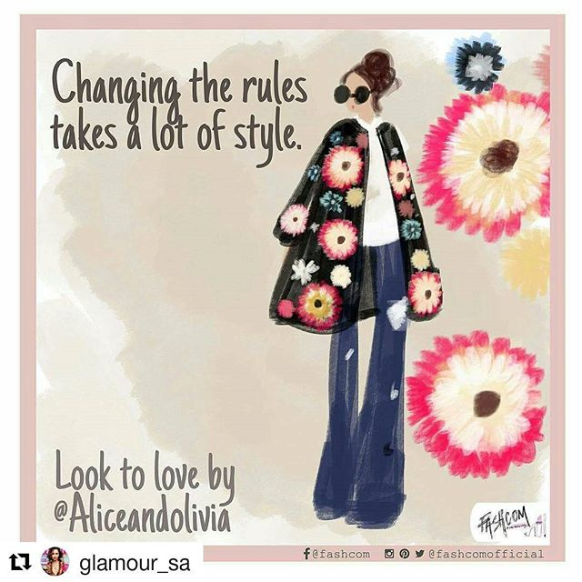 Fashion tip for the weekend: Wear what makes you feel good! • New comic for @glamour_sa •  #GLAMfashion #fashion #moda #love #illustration #comic #fashionart #fashioncomic #art
