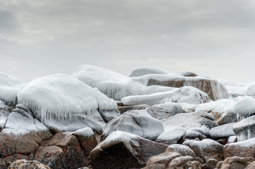 An Icy Winter on the Coast of Maine