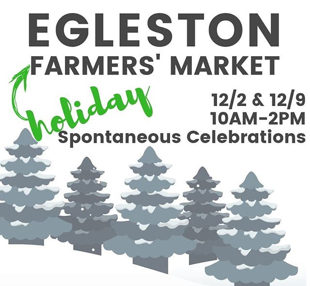 Join us for 2 special holiday market dates -- this Sun & next Sun @ Spontaneous Celebrations 10AM-2PM -- food, crafts, jewelery & more!