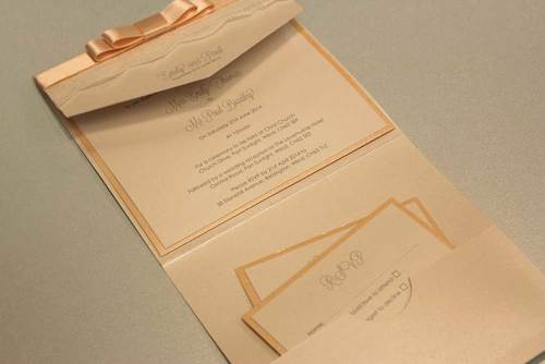 Handmade wedding invitations the paper doll emily and paul stopboris Choice Image