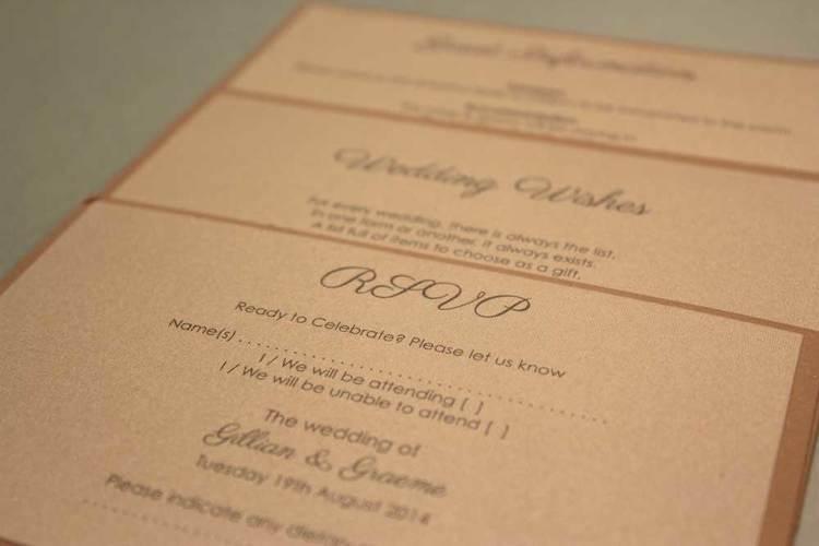Handmade wedding invitations the paper doll gilian greme 3g stopboris Choice Image