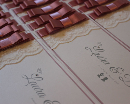 Handmade wedding invitations the paper doll stopboris Choice Image
