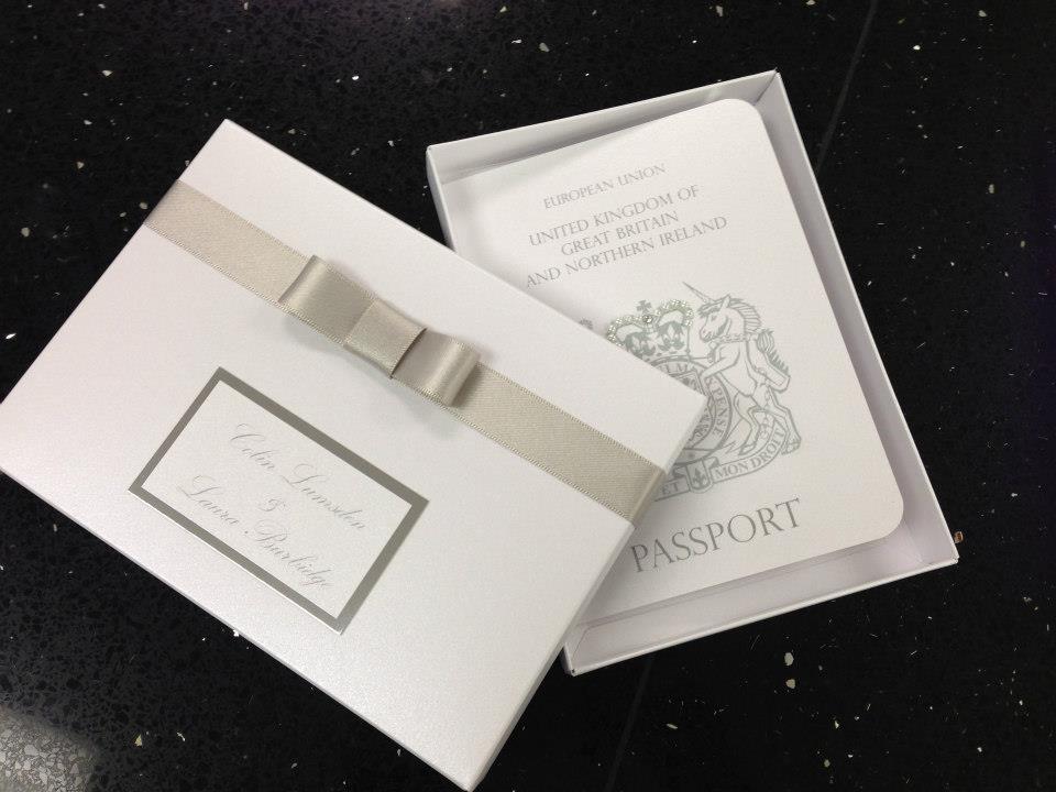 Passports - Handmade Wedding Invitations