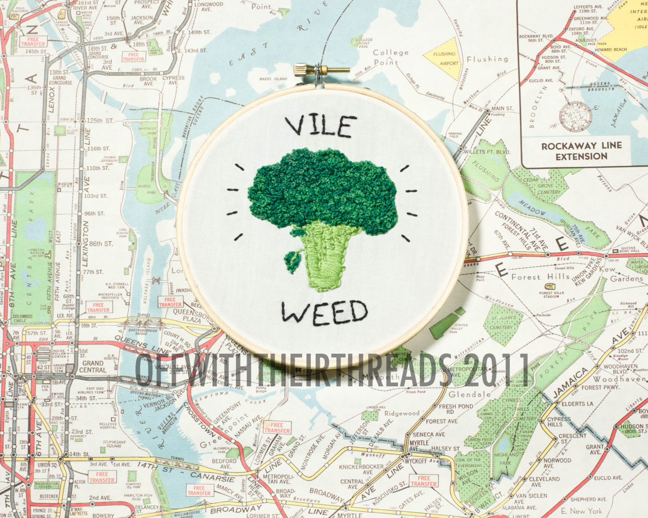 executiveproducerdickwolf: Vile Weed, 2011. available for purchase!