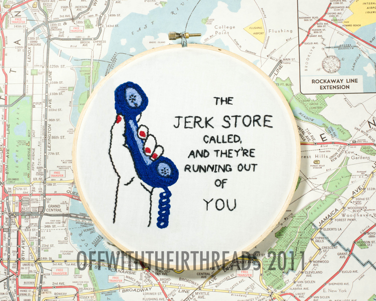 executiveproducerdickwolf :     The Jerk Store, 2011.   available for purchase!