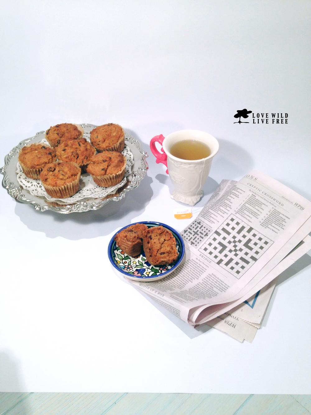 lovewildlivefree tea&muffin