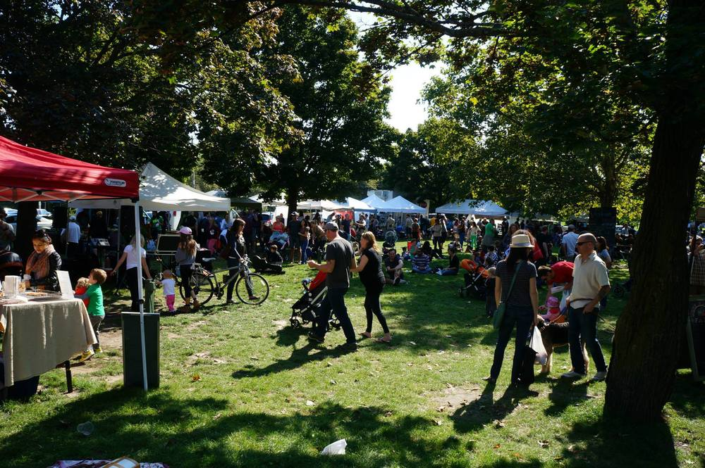 Leslieville Farmers' Market (Map) Sundays 9am – 2pm