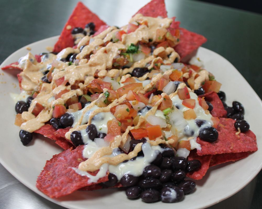 Chipotle Nachos. Photo courtesy of Choices Organic Café.