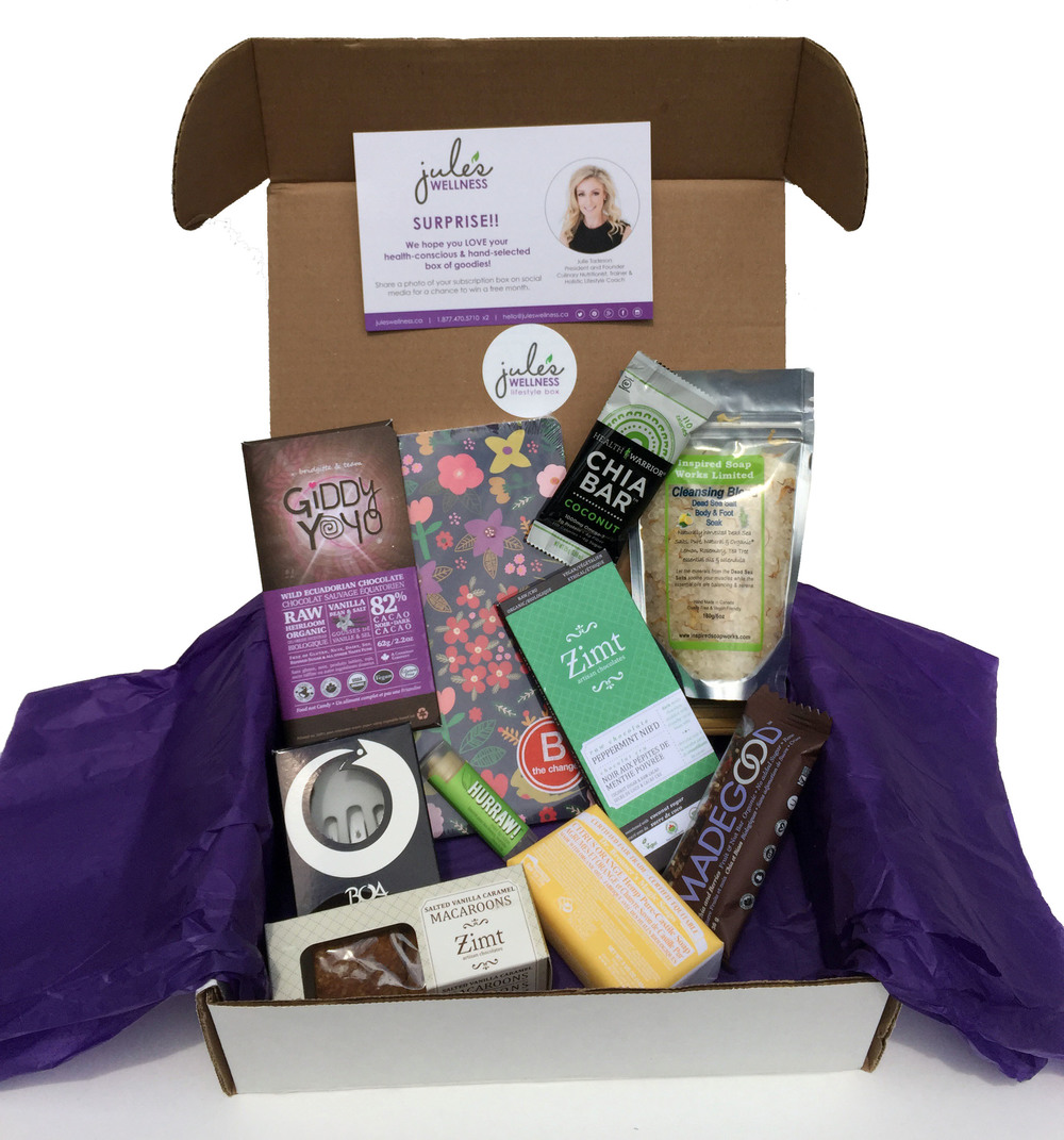 Jule's Wellness Lifestyle Subscription Box