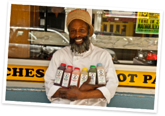 Melvin Major Jr, founder of Melvin's Juice Box. Photo source: melvinsjuicebox.com.