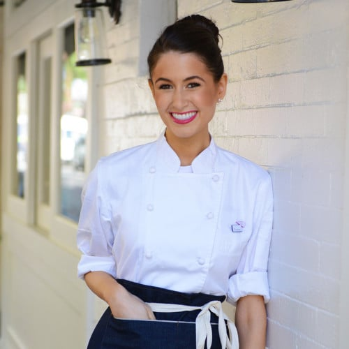 Chloe Coscarelli, Chef + Partner, by CHLOE.  Photo source: bychefchloe.com.