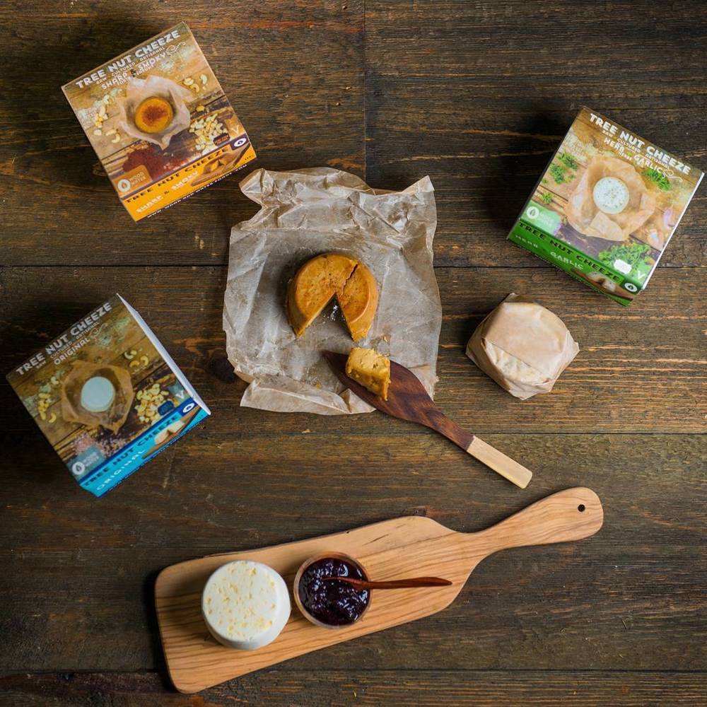 Toronto-based Culcherd is always serving up the best in artisan vegan cheese.  Photo by   Culcherd.