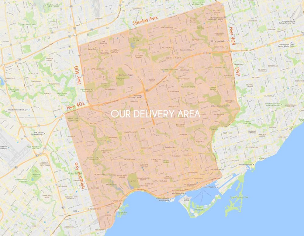 This is the Let's Nom Delivery Area. Please don't hesitate to reach out to info@letsnom.ca to have your area be considered for zone expansions.