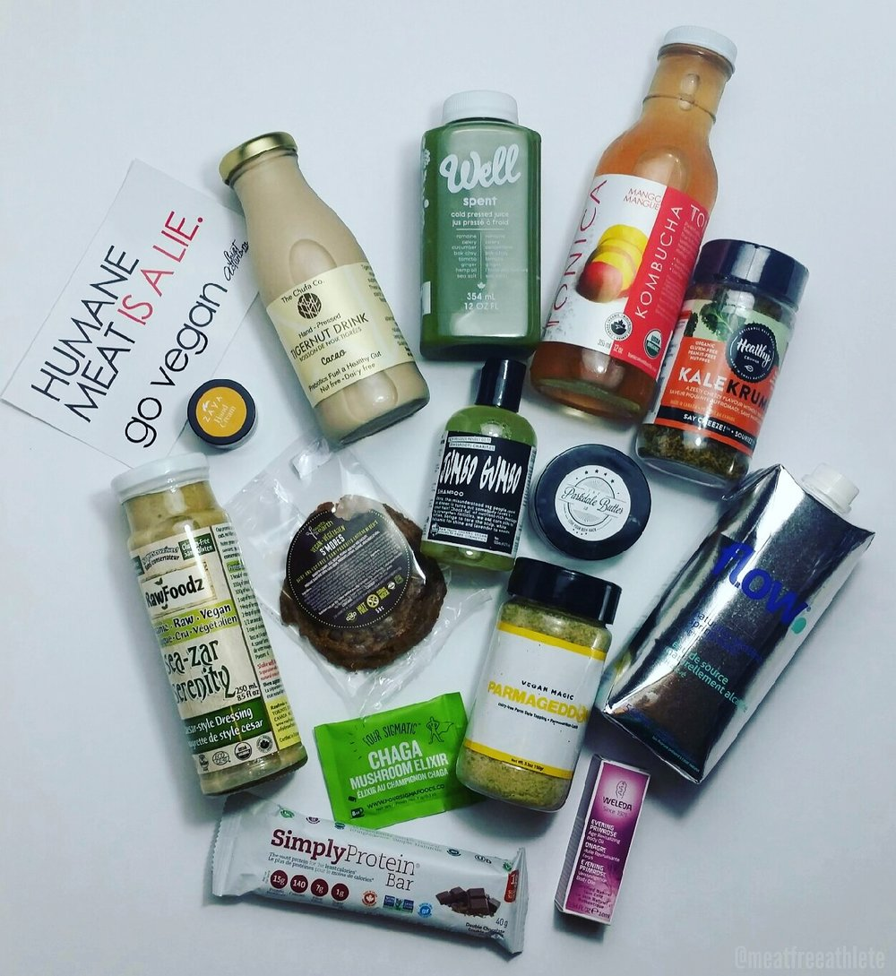 Love Wild Live Free gift bag goodies