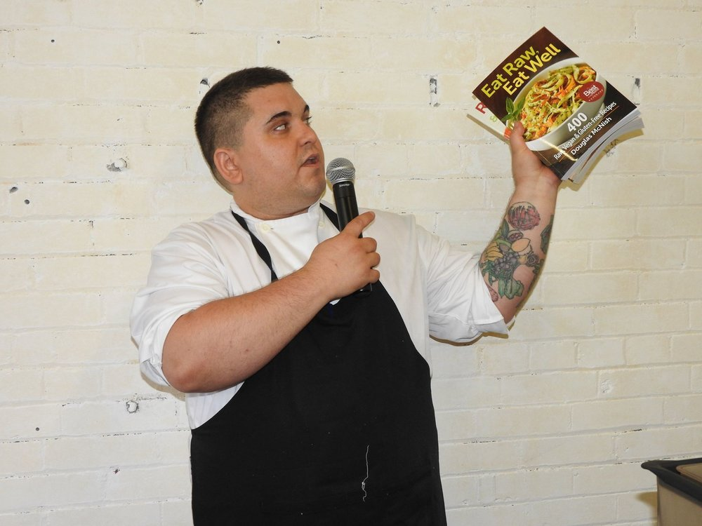 Special guest executive vegan   Chef Doug McNish .   Photo by  Snapd Annex/Yorkville  - Zolen Georgievska.