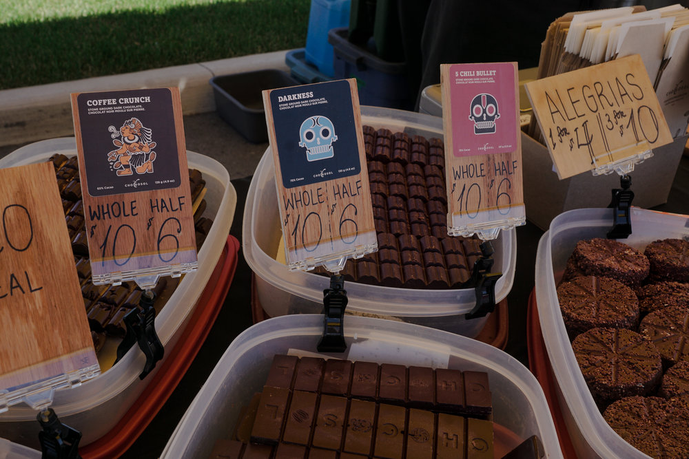 Dairy-free ethically sourced chocolate from  ChocoSol Traders .  Photo by:    Two Market Girls.
