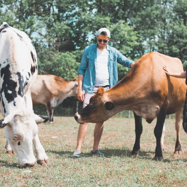 Michael Codner - Event Assistant.  Michael, pictured at Wishing Well Sanctuary,is passionate about animal rights and promoting a healthy, vegan lifestyle.