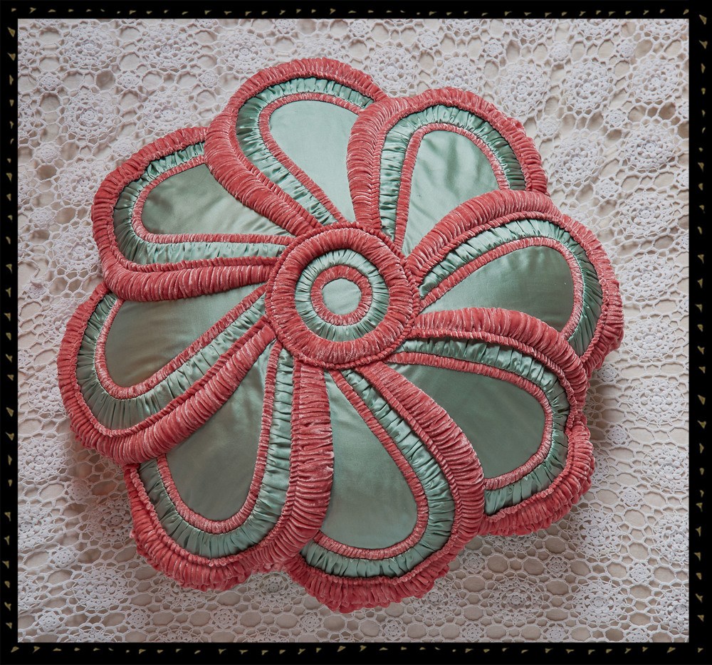 Aroused Rose cushion