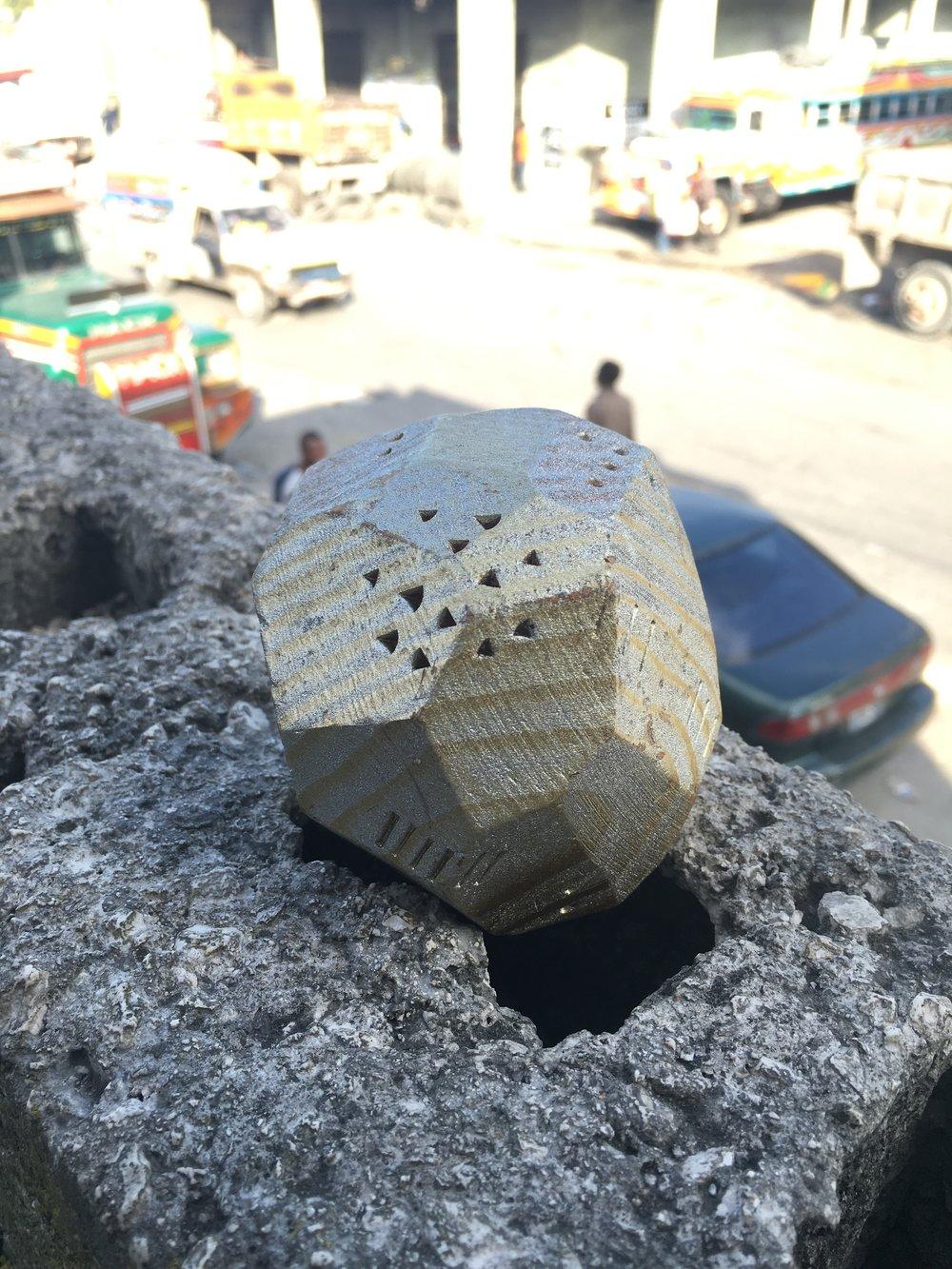 """Cosmologic Lakou"" in Port-Au-Prince 2015"