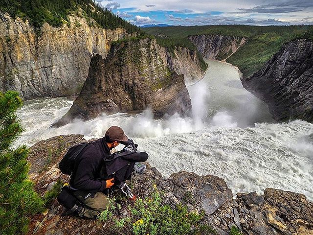 I had the pleasure of spending the last 30 days off the grid, shooting a feature with the Dene along the Nahanni river. Thank you to the entire crew and a special thanks to @metalsea for putting my name in the hat. DP, @kiarashsadigh and Director @geoffb193 for giving me the green light to come on the project. Truly a once in a lifetime experience that I will never forget. @deanermorrow for helping me prepare for 27nights in a tent and 24hr daylight.  If you're interested, you can see more of the journey @nahanniriverofforgiveness 📷 - @johnbinghamphoto #nahanni #virginiafalls #i❤️🇨🇦