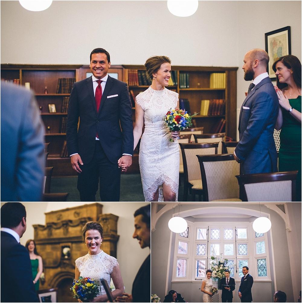 wedding photographer mayfair library london