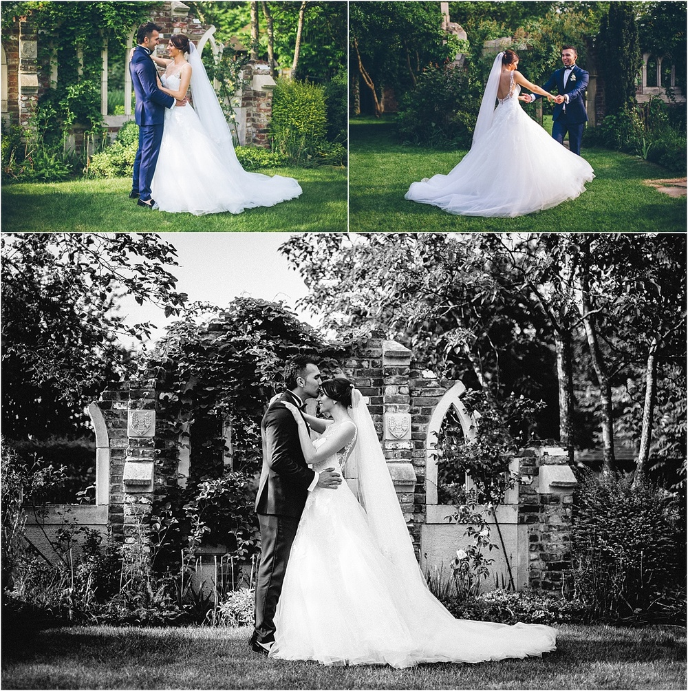 wedding photos at capel manor gardens