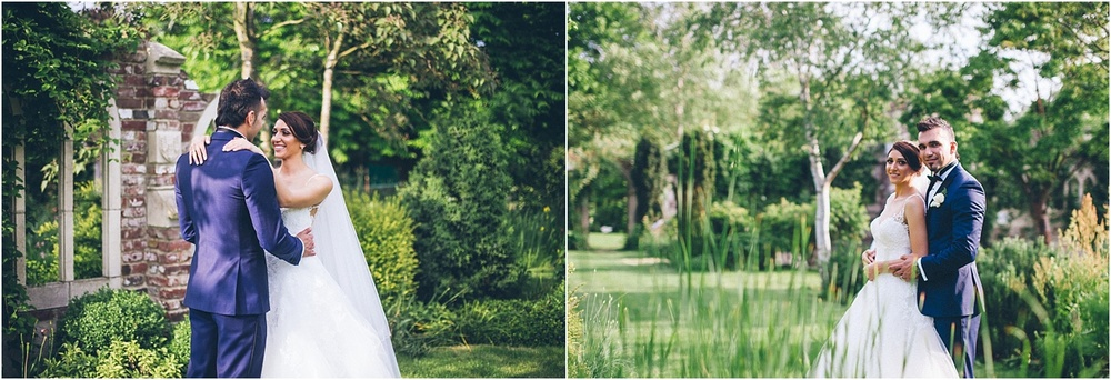 couple photos at capel manor gardens