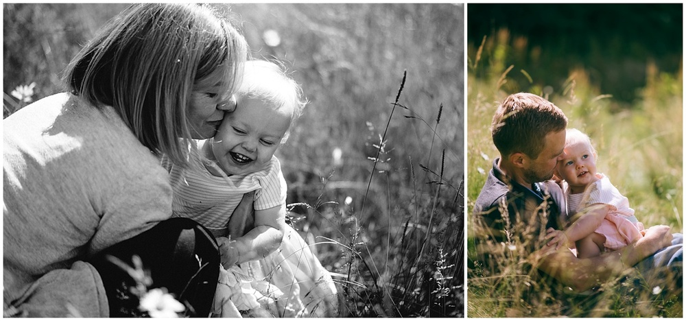 Natural family photographer in devon