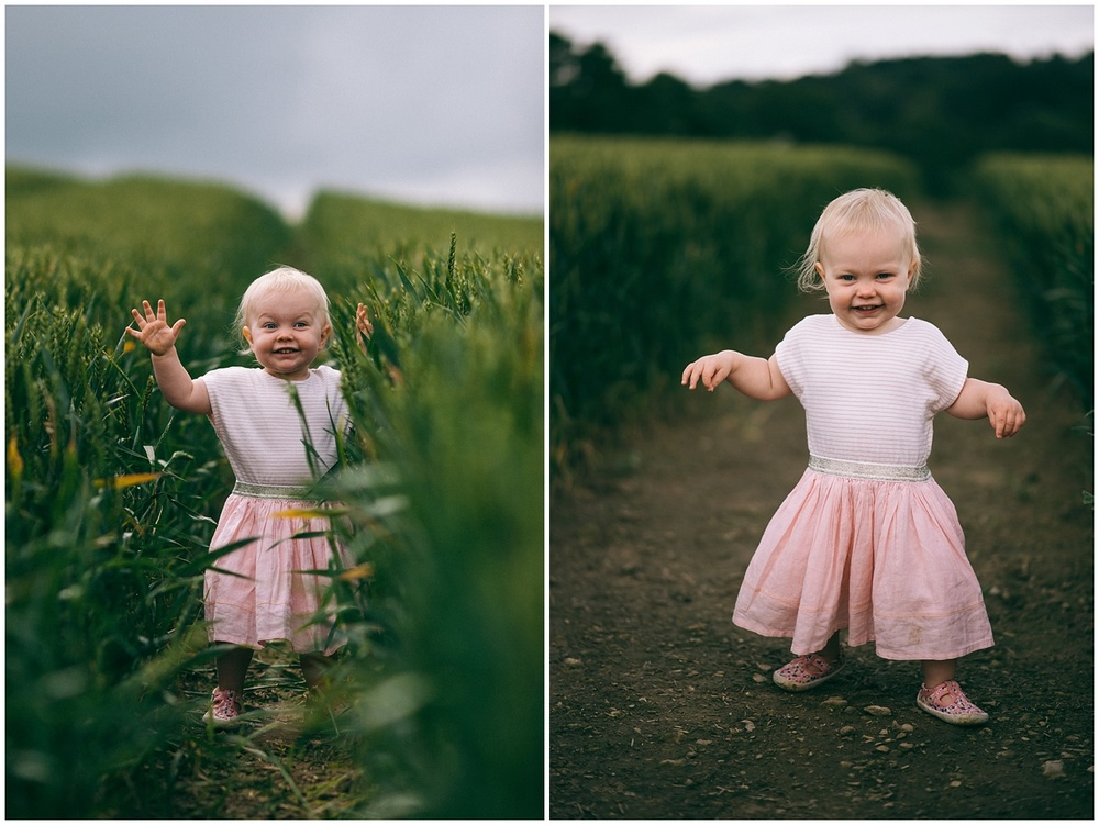 Natural family photography in devon
