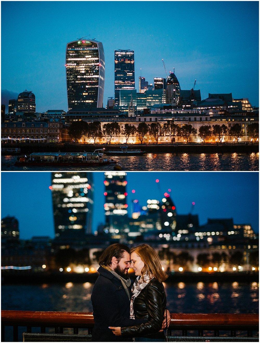 london engagement shoot ideas