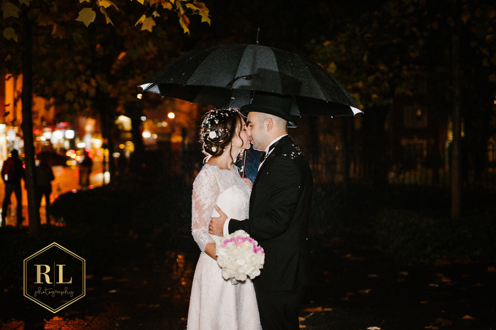wedding at Islington Town Hall and The Ritz in London