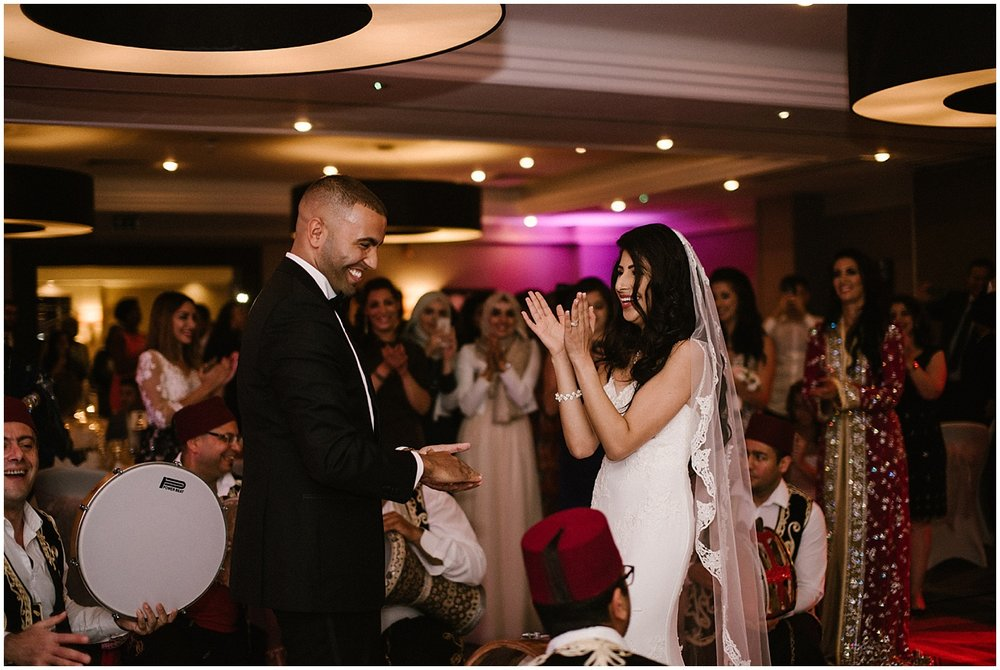 arabic wedding at the hilton doubletree ealing, london