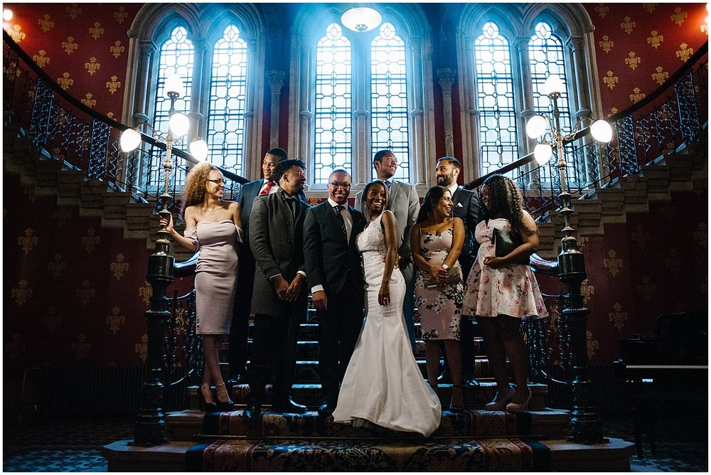wedding at the st pancras renaissance hotel in london