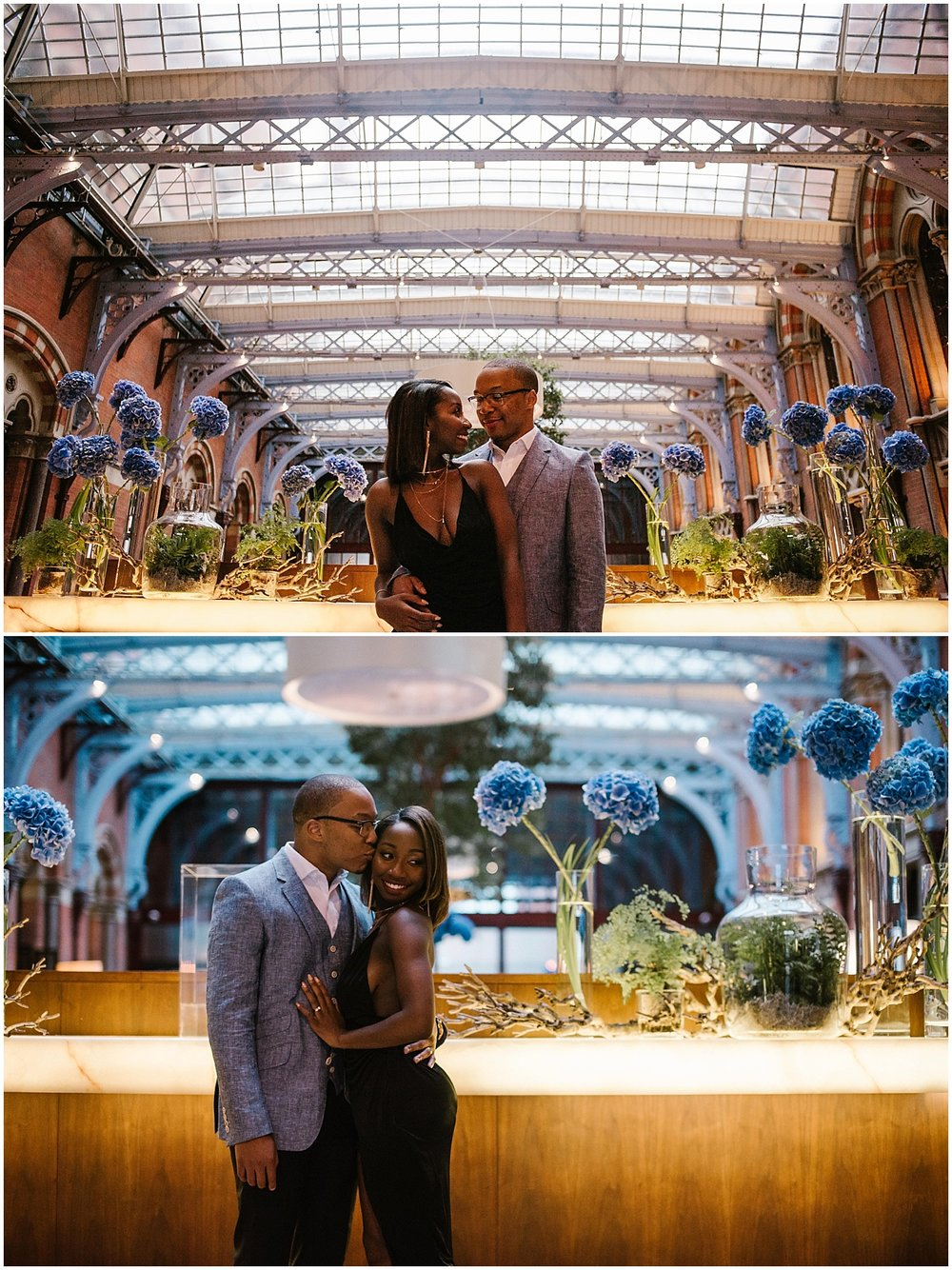 wedding photography at the st pancras renaissance hotel london