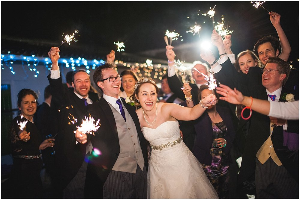 sparkler wedding photo ideas