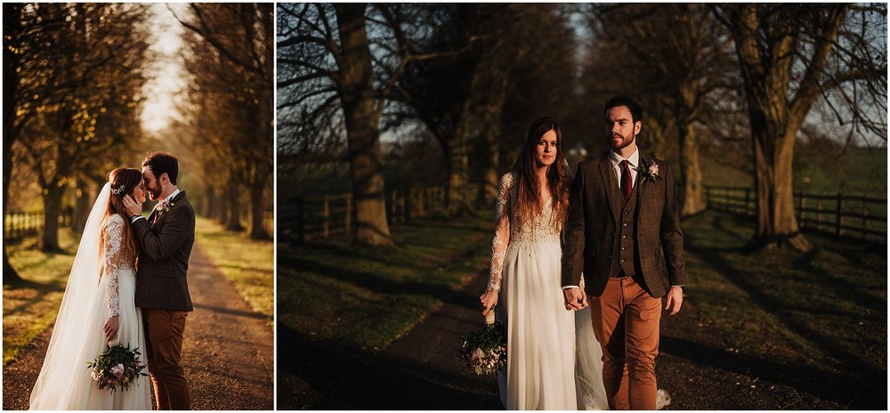 couple photos on the long drive at notley abbey