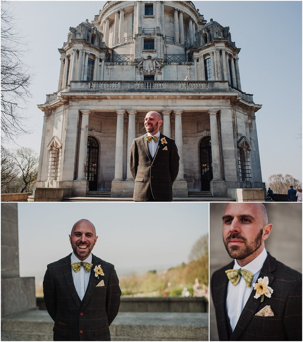 Wedding at the Ashton Memorial