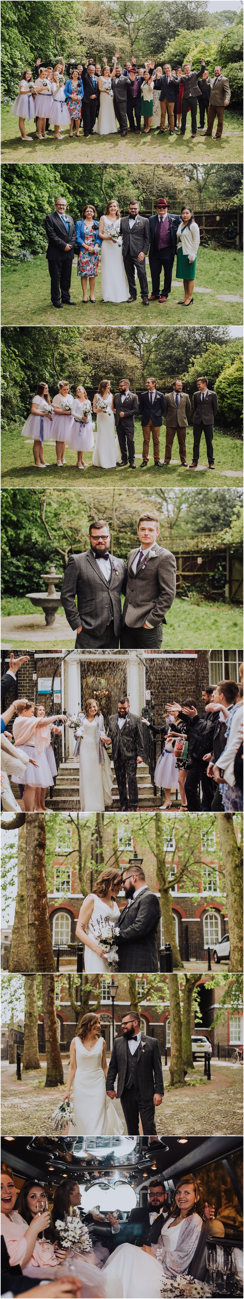 wedding photos at southwark registry office