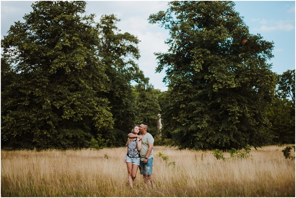 engagement photos in hyde park