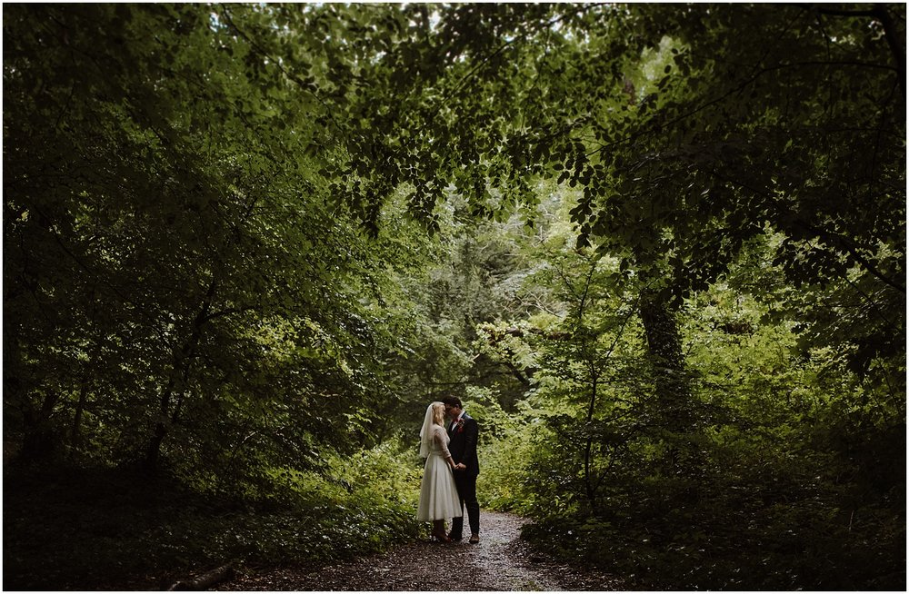 London wedding photographer in sydenham woods