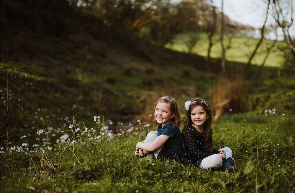 outdoor family photographer in south london
