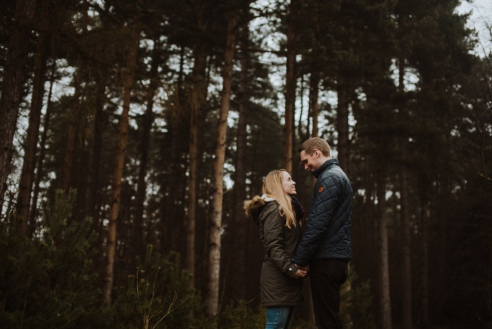 engagement shoot at windsor great park