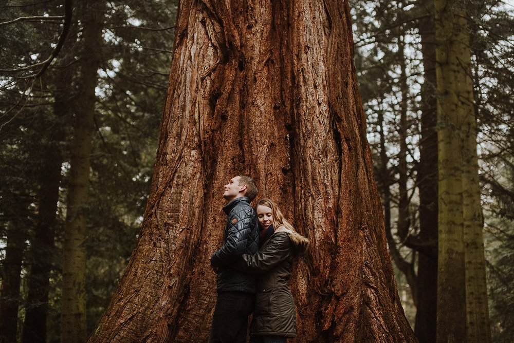 nature inspired engagement shoot