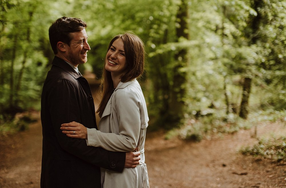 engagement session in kent