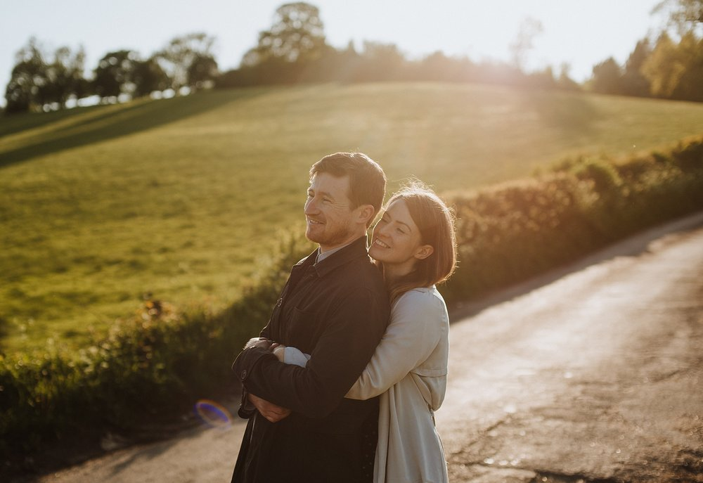 sunset couple photos