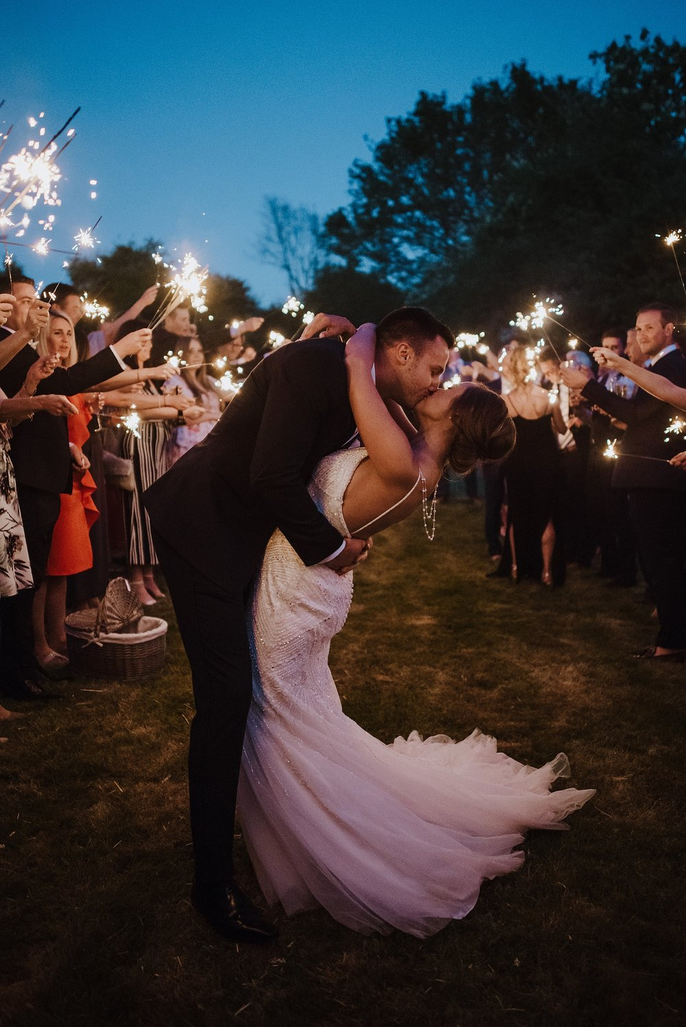 sparkler photo ideas
