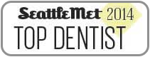 Dr. David Tobias won Seattle Met 2014 Top Dentist Award.