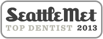 Dr. David Tobias won Seattle Met 2013 Top Dentist Award.